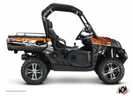 Kit Déco SSV Eraser CF Moto U Force 800 Orange Noir