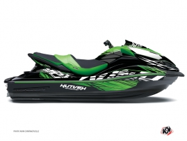 Kawasaki ULTRA 300-310 Jet-Ski Eraser Graphic Kit Green Black