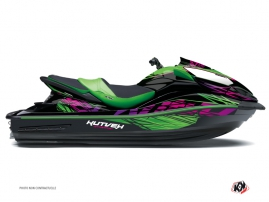 Kawasaki ULTRA 300-310 Jet-Ski Eraser Graphic Kit Green