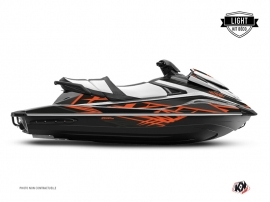 Kit Déco Jet-Ski Eraser Yamaha VX Gris Orange LIGHT