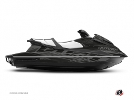Yamaha VX Jet-Ski Eraser Graphic Kit Black Grey