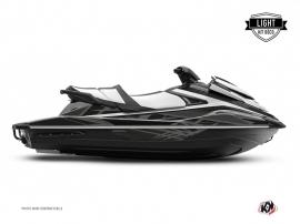 Yamaha VX Jet-Ski Eraser Graphic Kit Black Grey LIGHT