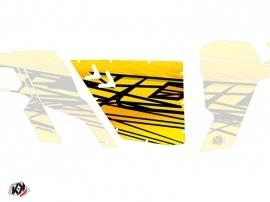 Kit Déco Portes Standard XRW Eraser Can Am Commander 2011-2017 Jaune