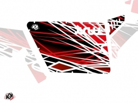 Graphic Kit Doors Standard XRW Eraser UTV Polaris RZR 570/800/900 2008-2014 Red White