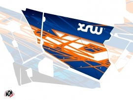 Graphic Kit Doors Standard XRW Eraser UTV Polaris RZR 900S/1000/Turbo 2015-2017 Blue Orange