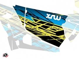 Kit Déco Portes Standard XRW Eraser SSV Polaris RZR 900S/1000/Turbo 2015-2017 Neon Bleu