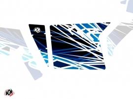 Kit Déco Portes Suicide XRW Eraser SSV Polaris RZR 570/800/900 2008-2014 Bleu