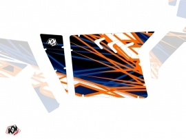 Kit Déco Portes Suicide XRW Eraser SSV Polaris RZR 570/800/900 2008-2014 Bleu Orange
