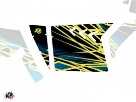 Kit Déco Portes Suicide XRW Eraser SSV Polaris RZR 570/800/900 2008-2014 Neon Bleu