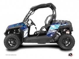 Kit Déco SSV Eraser CF Moto Z Force 1000 Bleu