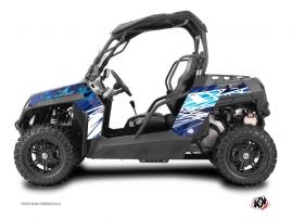 Kit Déco SSV Eraser CF Moto Z Force 800 Bleu