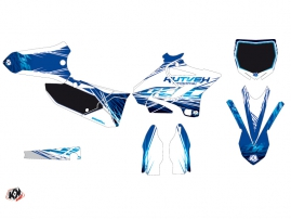 Yamaha 125 YZ Dirt Bike Eraser Graphic Kit Blue