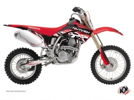 Honda 150 CRF Dirt Bike Eraser Graphic Kit Red White