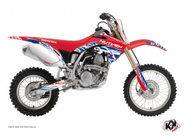 Kit Déco Moto Cross Eraser Honda 150 CRF Rouge - Bleu