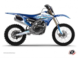 Kit Déco Moto Cross Eraser Yamaha 250 YZF Bleu