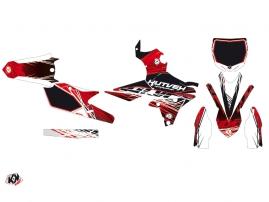 Yamaha 250 YZF Dirt Bike Eraser Graphic Kit Red White