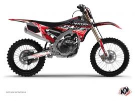 Kit Déco Moto Cross Eraser Yamaha 250 YZF Rouge - Blanc