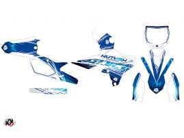 Yamaha 450 YZF Dirt Bike Eraser Graphic Kit Blue