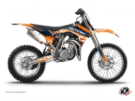 Kit Déco Moto Cross Eraser KTM 85 SX Bleu Orange
