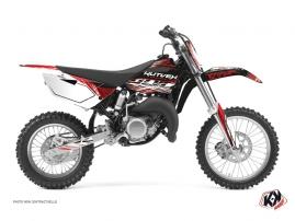Kit Déco Moto Cross Eraser Yamaha 85 YZ Rouge Blanc
