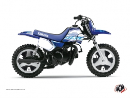 Yamaha PW 50 Dirt Bike Eraser Graphic Kit Blue