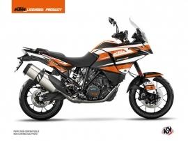 KTM 1090 Adventure Street Bike Eskap Graphic Kit Orange White