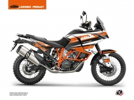 KTM 1090 Adventure R Street Bike Eskap Graphic Kit Orange White