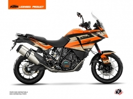 KTM 1190 Adventure Street Bike Eskap Graphic Kit Orange Sand