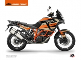 Kit Déco Moto Eskap KTM 1290 Super Adventure R Orange Sable