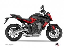 Kit Déco Moto Essential Honda CB 650 F Rouge Noir