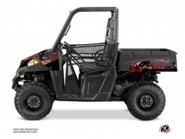 Polaris Ranger 570 UTV Evil Graphic Kit Grey Red