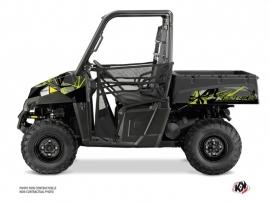 Polaris Ranger 570 UTV Evil Graphic Kit Grey Green