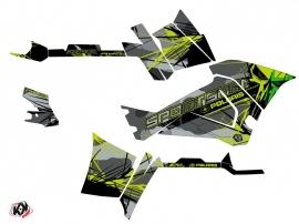 Kit Déco Quad Evil Polaris 570 Sportsman Touring Gris Vert