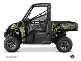 Polaris Ranger 900 XP UTV Evil Graphic Kit Grey Green