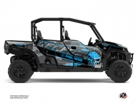 Polaris GENERAL 1000 4 doors UTV Evil Graphic Kit Grey Blue