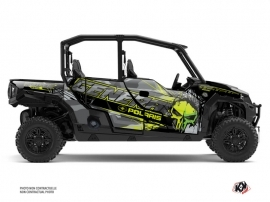 Polaris GENERAL 1000 4 doors UTV Evil Graphic Kit Grey Green
