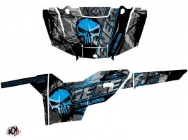 Polaris GENERAL 1000 UTV Evil Graphic Kit Grey Blue