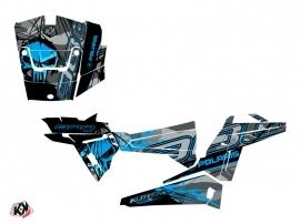 Polaris RZR 900 S UTV Evil Graphic Kit Grey Blue