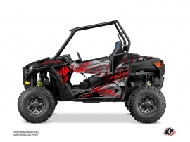 Kit Déco SSV Evil Polaris RZR 900 S Gris Rouge