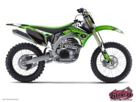 Kit Déco Moto Cross Factory Kawasaki 125 KX