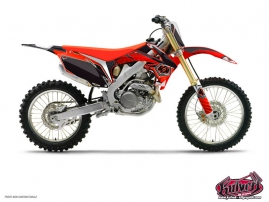 Honda 250 CR Dirt Bike Factory Graphic Kit