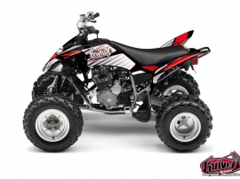 Kit Déco Quad Factory Yamaha 250 Raptor Rouge