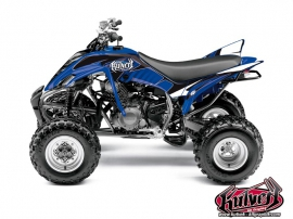Yamaha 350 Raptor ATV Factory Graphic Kit Blue