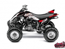 Kit Déco Quad Factory Yamaha 350 Raptor Rouge