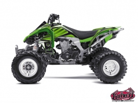 Kawasaki 450 KFX ATV Factory Graphic Kit