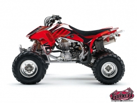 Honda 450 TRX ATV Factory Graphic Kit