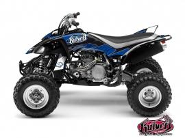 Kit Déco Quad Factory Yamaha 450 YFZ Bleu