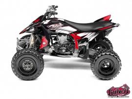 Kit Déco Quad Factory Yamaha 450 YFZ R Rouge