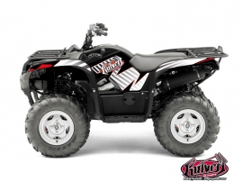 Kit Déco Quad Factory Yamaha 550-700 Grizzly Rouge