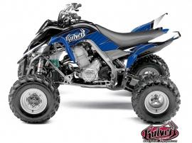 Kit Déco Quad Factory Yamaha 700 Raptor Bleu